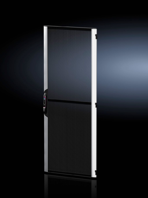 Puerta de chapa de acero-aluminio, con aireación para VX IT