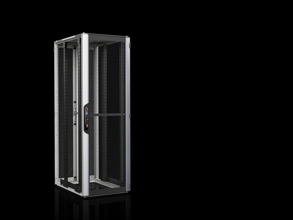 Nätverks-/serverskåp VX IT med ventilerade dörrar, med 19