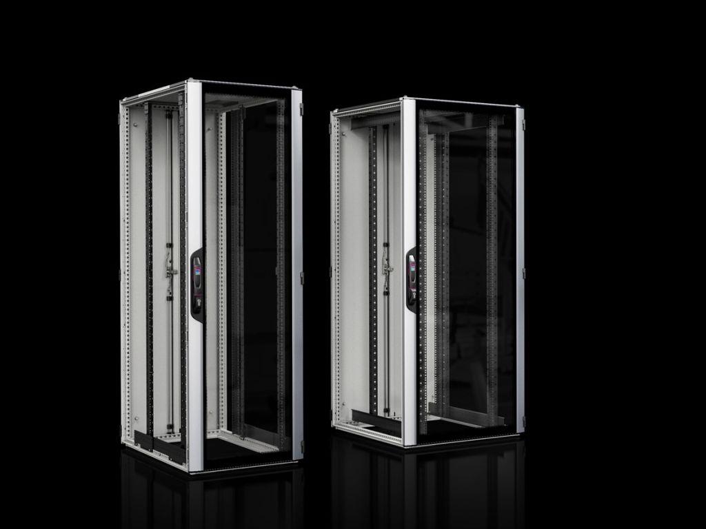 Network/server rack VX IT with glazed door, with 482.6 mm (19