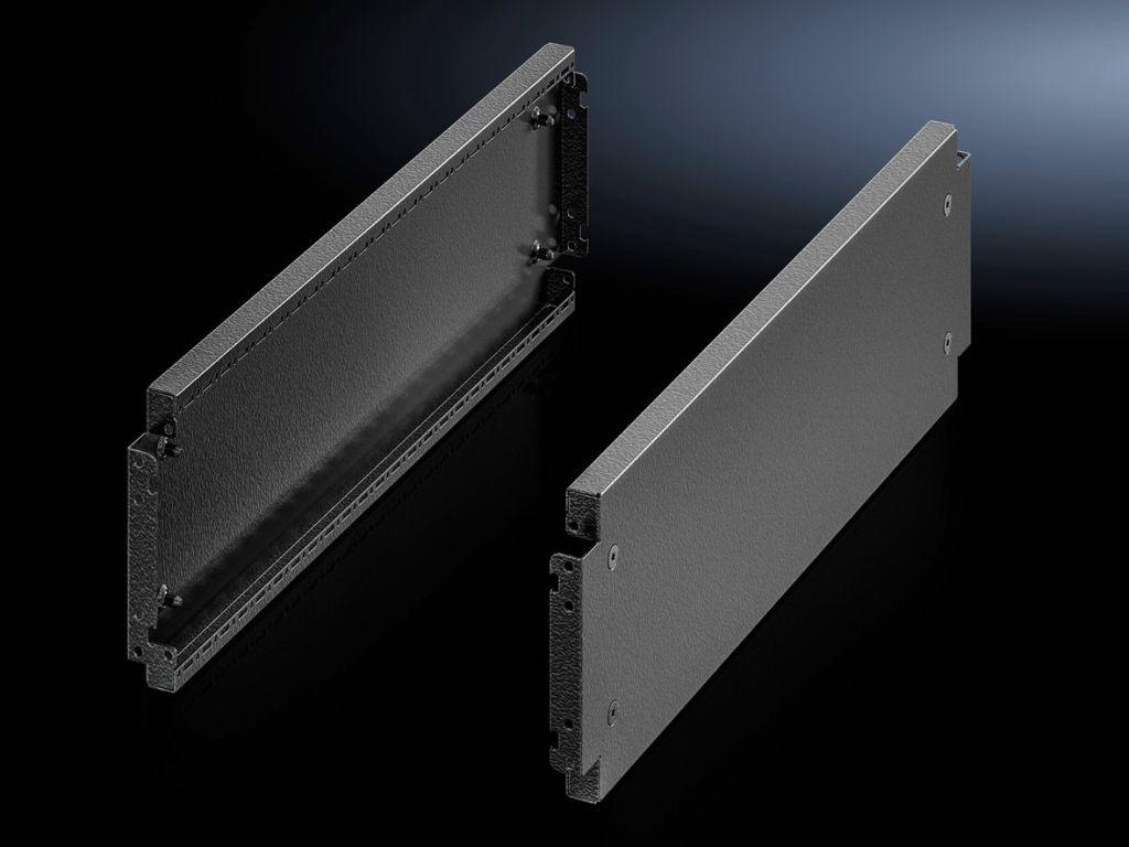 Base/plinth trim panels, side, 200 mm for base/plinth system VX, sheet steel
