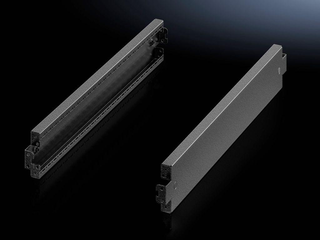 Sockelplåtar, på sidan, 100 mm för sockelsystem VX, stålplåt