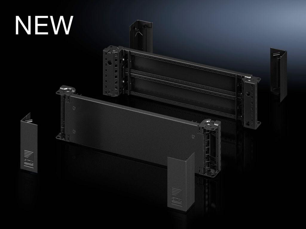 Base/plinth corner piece with base/plinth trim panels, front and rear, optimized design, 200mm for VX, VX IT, VX SE, TE, TS, TS IT, SE, CM, TP, PC, IW