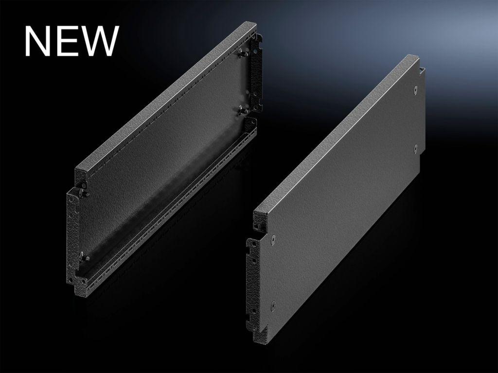 ベース トリムパネル、側面用、鋼板製、改良型、200 mm VX ベースシステム (鋼板製) 用