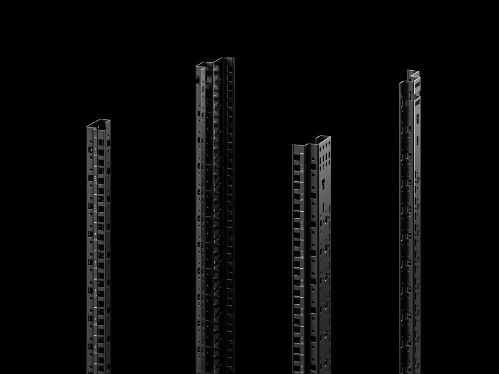 Profilskinner standard, 482,6 mm (19