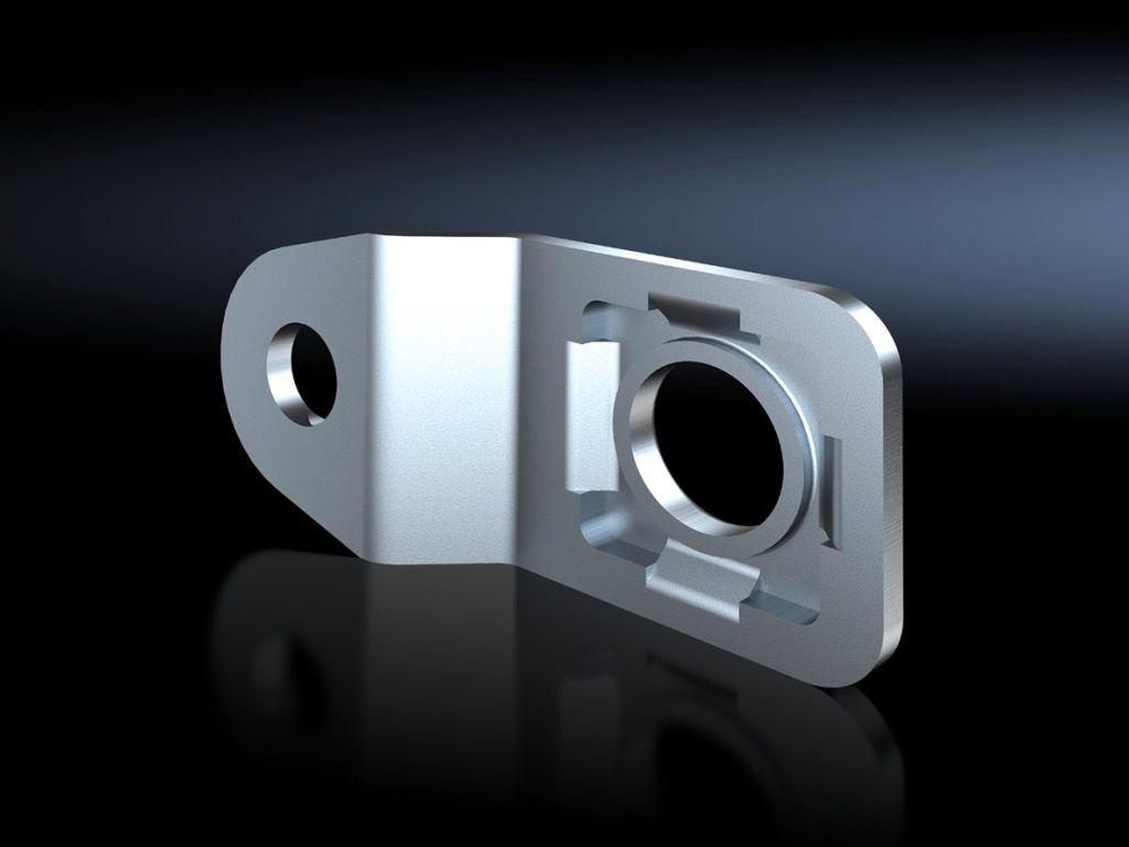 Soporte para fijación mural para AX de acero inoxidable, KX de acero inoxidable, caja para pulsadores de acero inoxidable
