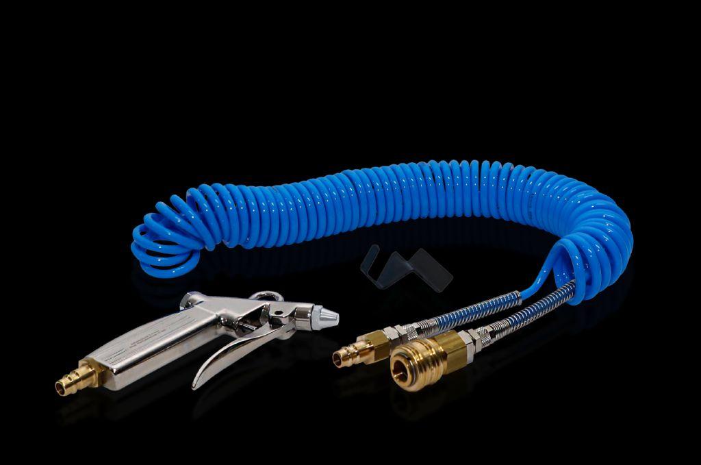 Compressed air pistol set