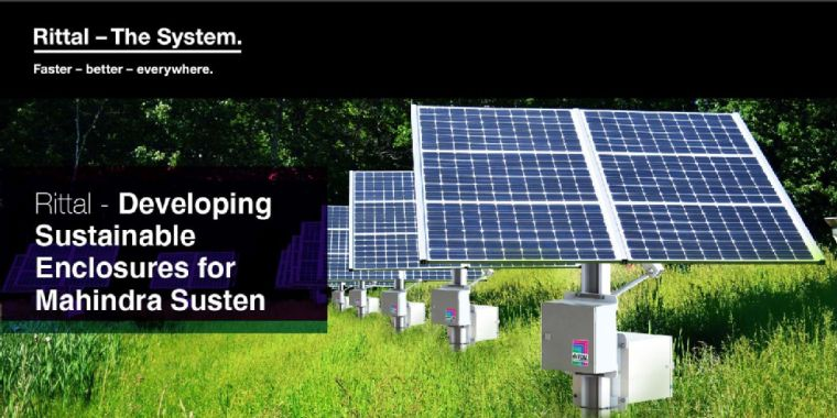 Developing Sustainable Enclosures for Mahindra Susten - Rittal