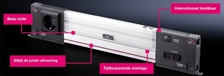 Rittal Systeemverlichting Led