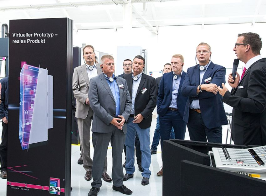 Steuerungs- und Schaltanlagenbau 4.0 zum Anfassen: Rittal eröffnet ...