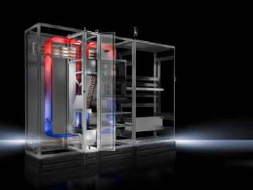 Liquid Cooling Package LCP Rack Industrie