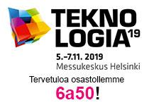Eplan ja Rittal Teknologia-messuilla <br>5.–7.11.2019 Hgin Messukeskuksessa